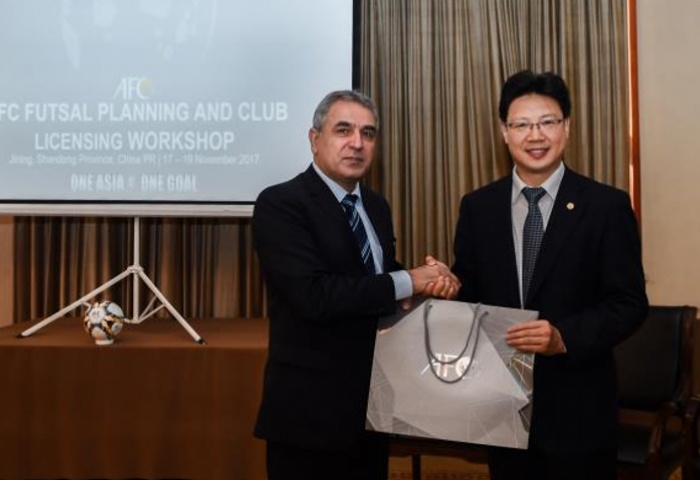 Futsal planning and club licensing workshop held in Jining