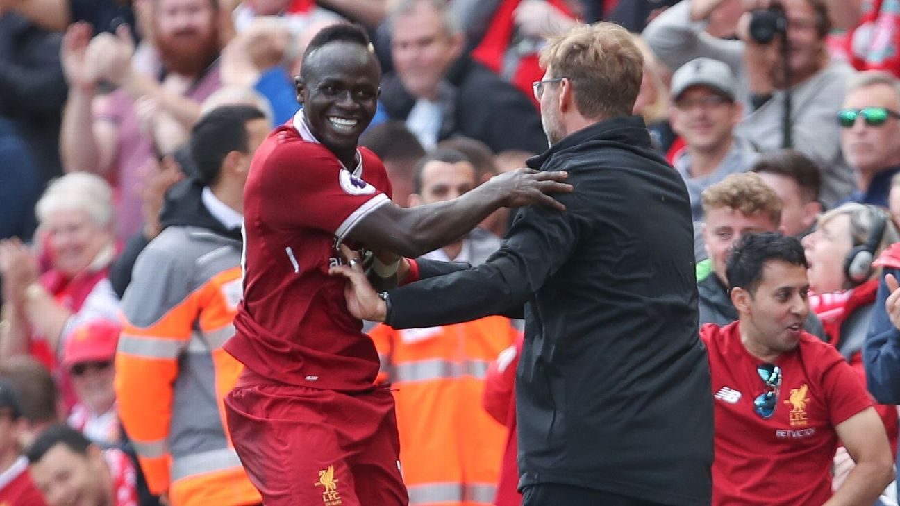 Sadio Mane starts for Liverpool vs. Southampton; Joel Matip misses out