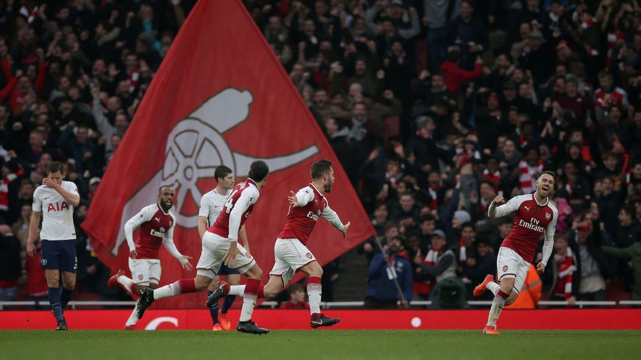 Shkodran Mustafi and Alexis Sanchez lead Arsenal to victory over Spurs