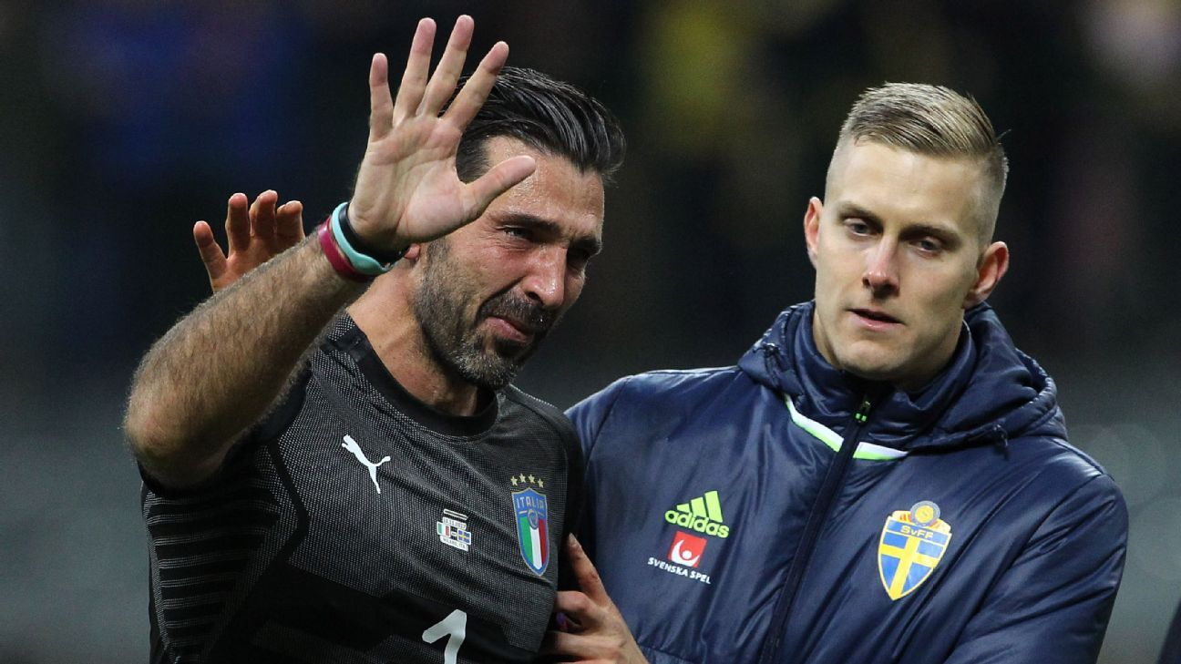 Juventus to rest Gianluigi Buffon after World Cup disappointment