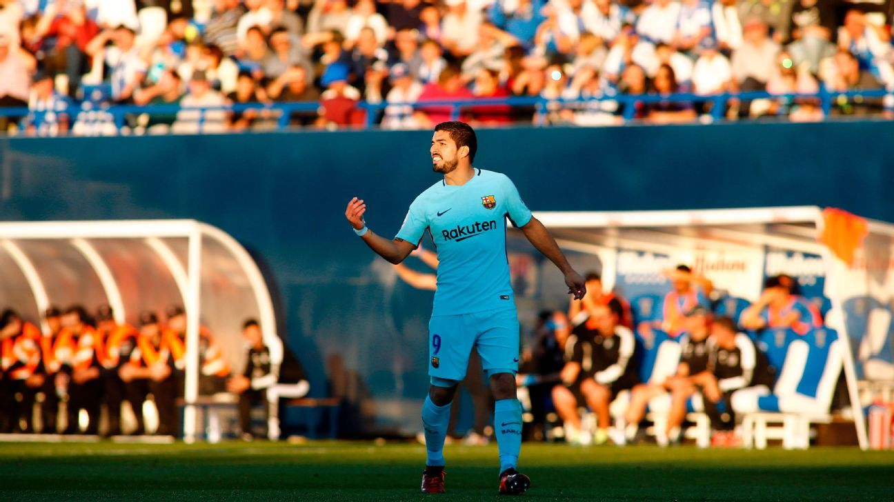 Luis Suarez say he was never worried over his Barcelona goals drought