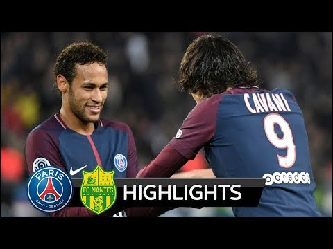 PSG vs Nantes 4-1 - All Goals & Extended Highlights - 18/11/2017 HD