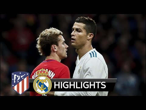 Atletico Madrid vs Real Madrid 0-0 - Extended Match Highlights - La Liga 18/11/2017 HD