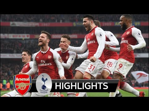 Arsenal vs Tottenham 2-0 - All Goals & Extended Highlights - Premier League 18/11/2017 HD