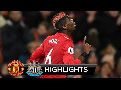 Manchester United vs Newcastle 4-1 - All Goals & Extended Highlights - Premier League 18/11/2017 HD