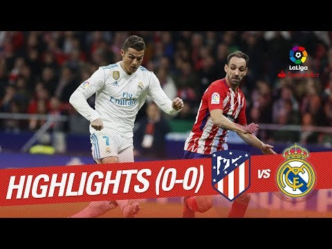 Resumen de Atlético de Madrid vs Real Madrid (0-0)