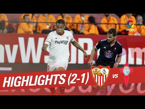 Resumen de Sevilla FC vs RC Celta (2-1)
