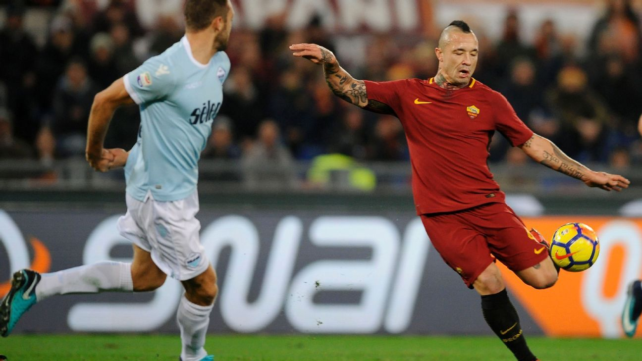 Radja Nainggolan Roma's 'superhero' for overcoming injury - Di Francesco