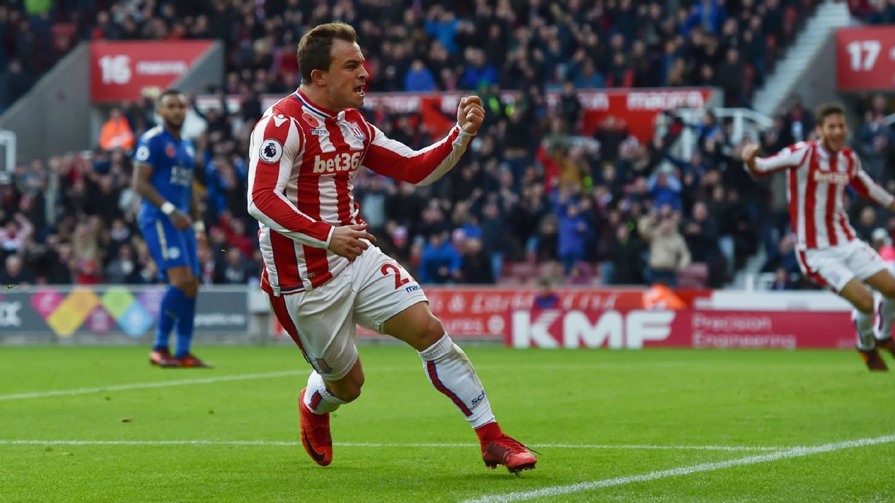 Shaqiri worth 'hell of a lot more' than when Stoke bought him - Hughes
