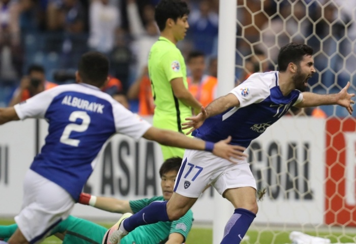Al Hilal's fighting spirit impresses Diaz
