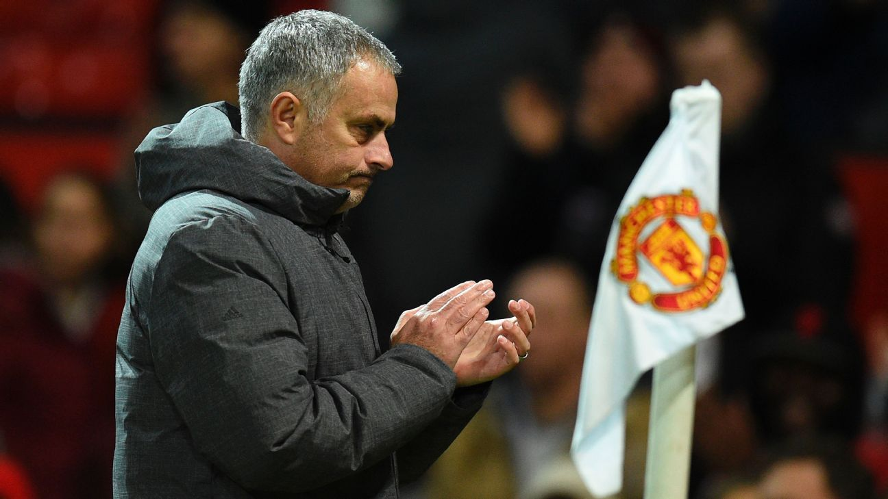 Manchester United building title push on Jose Mourinho's home comforts
