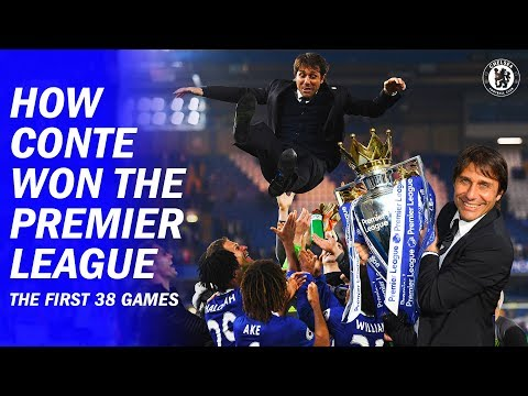 How Antonio Conte Won The Premier League In His First Season | Flash Back | Chelsea Films