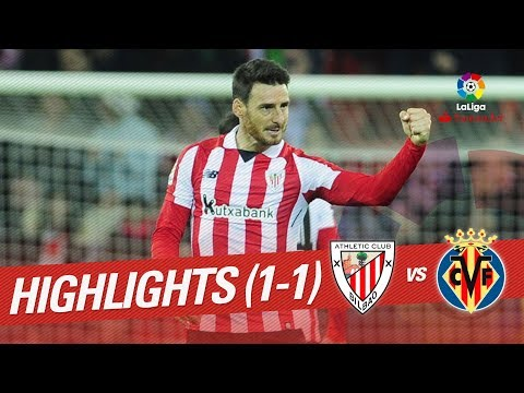 Resumen de Athletic Club vs Villarreal CF (1-1)