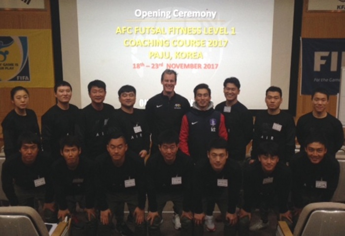 Another boost for Futsal development in Korea Republic with first-ever AFC Futsal Fitness Coaching course