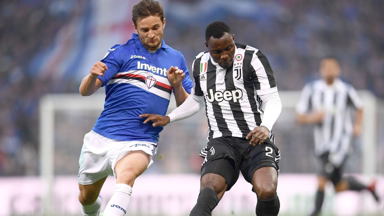 Asamoah, Lichtsteiner, Rugani all sub-par as Juve stumble to Samp defeat