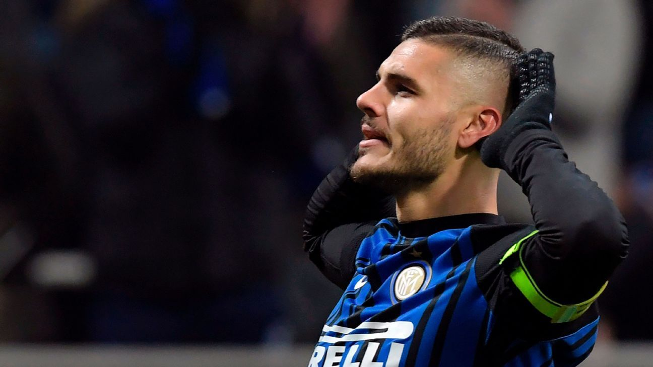 Icardi scores twice, defense superb in Inter's victory over Atalanta
