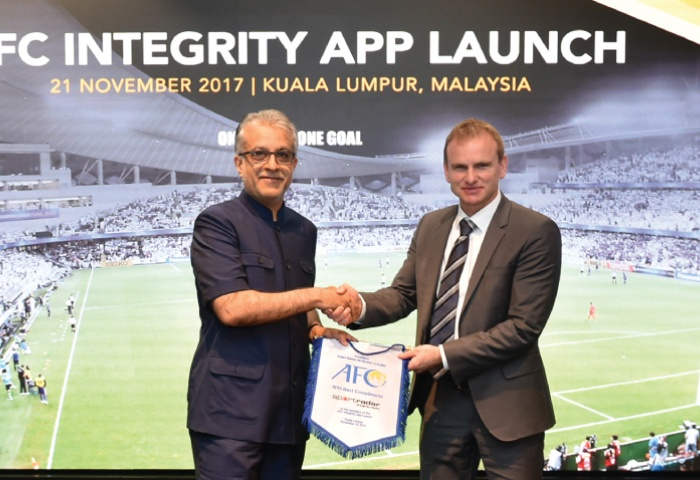 New mobile app strengthens AFC's fight against match-fixing