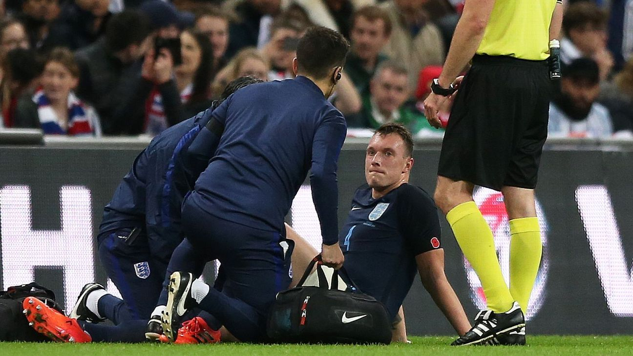 Man United still fuming about Phil Jones' treatment while with England