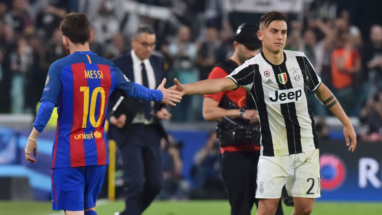 Lionel Messi comparisons don't bother Paulo Dybala - Juventus' Max Allegri