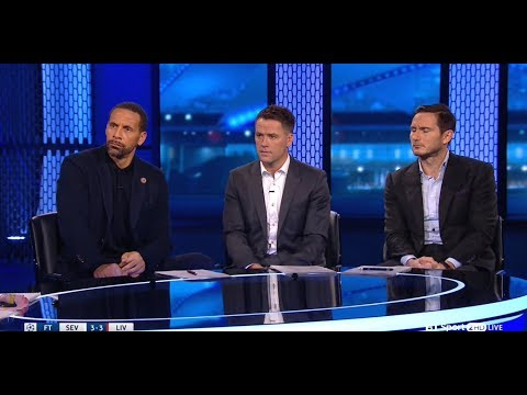 Sevilla vs Liverpool - Post Match Analysis - BT Sport