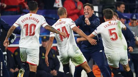 Sevilla boss 'reveals cancer' at half-time of comeback draw against Liverpool