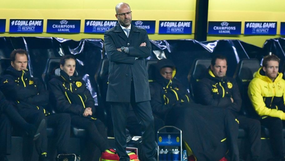 Under Pressure Peter Bosz Insists Dortmund's Champions League Exit Is Due to Lack of Confidence