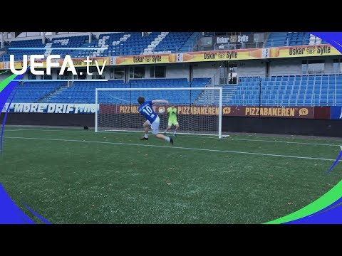 UEFA Youth League skills challenge: Molde