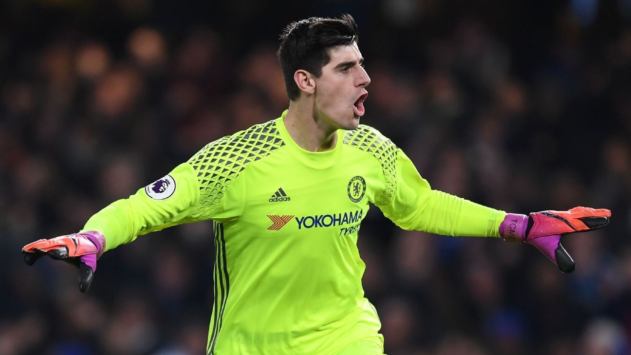 Thibaut Courtois in no hurry over new Chelsea deal and focused on matches