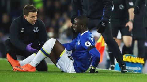 Everton's Bolasie back training after 11 months out
