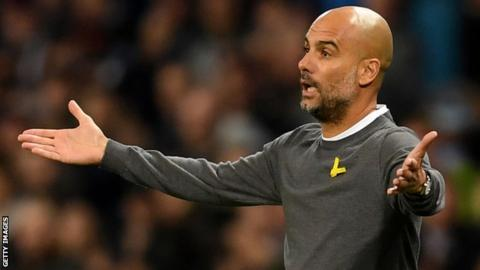 Pep Guardiola unlikely to be punished for pro-Catalan independence symbol