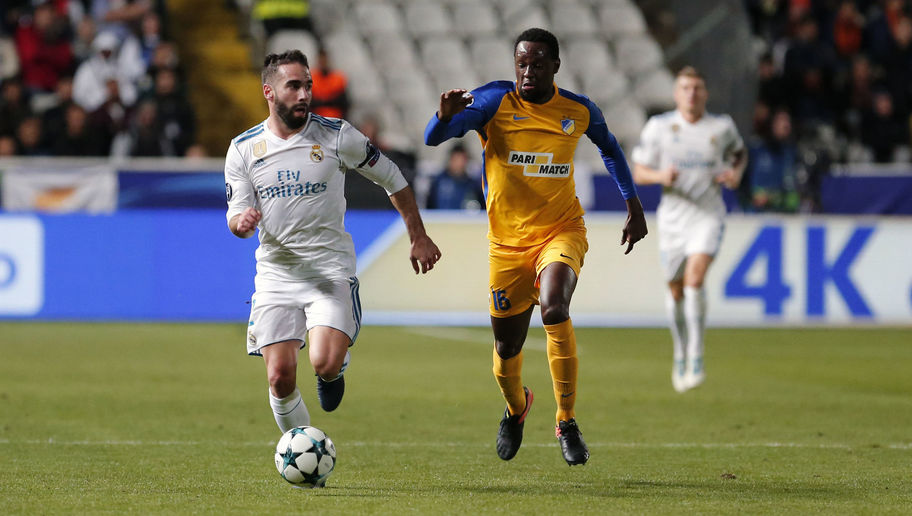 UEFA to Investigate Dani Carvajal Over Suspected Deliberate Yellow Card Against APO