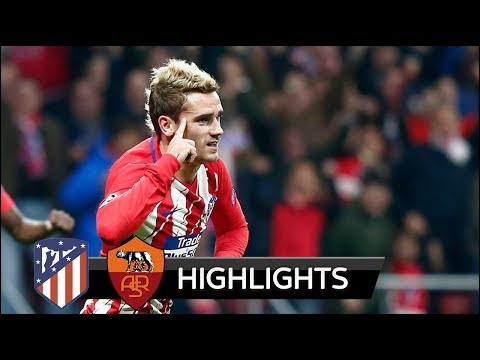 Atletico Madrid vs AS Roma 2-0 - All Goals & Extended Highlights - Champions League 22/11/2017 HD