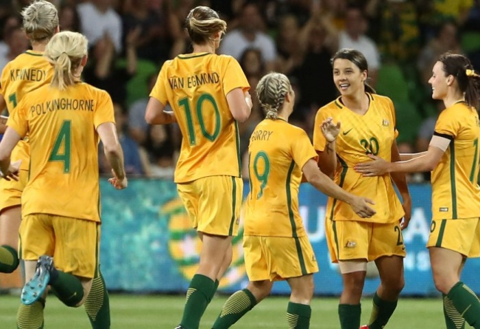 Van Egmond confident more to come from Matildas