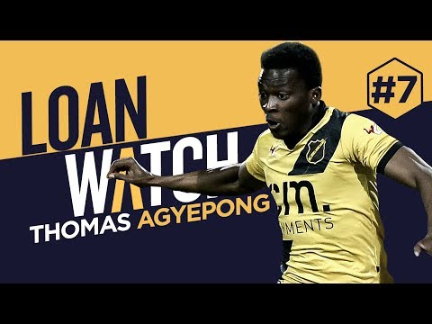 LOAN WATCH: THOMAS AGYEPONG | NAC Breda 2017-18