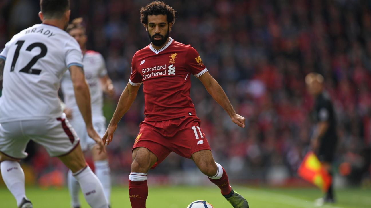 Mohamed Salah 'did not get his chance at Chelsea' - Eden Hazard