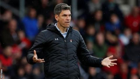 Southampton boss Mauricio Pellegrino 'not scared' for job