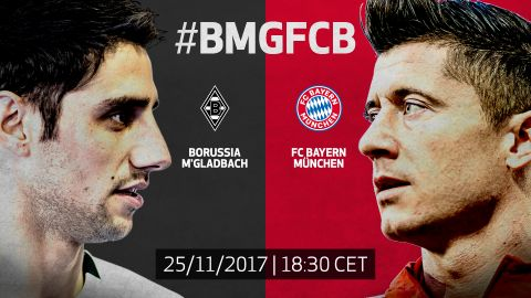 Gladbach vs. Bayern: LIVE build-up! Robert Lewandowski goes in search of his 19th goal of the campaign against Lars Stindl's Gladbach. vor 2 Stunden