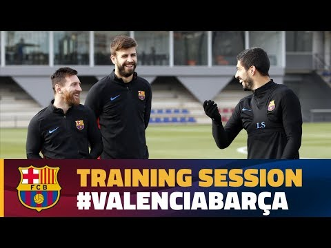First workout to prepare for trip to Valencia