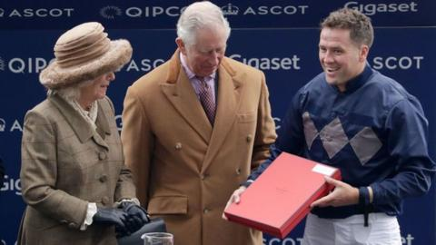 Ex-England striker Owen finishes second on debut as jockey