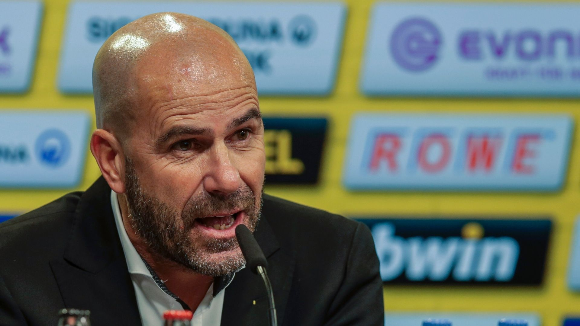 Borussia Dortmund coach Peter Bosz won't 'waste thought' on job fears
