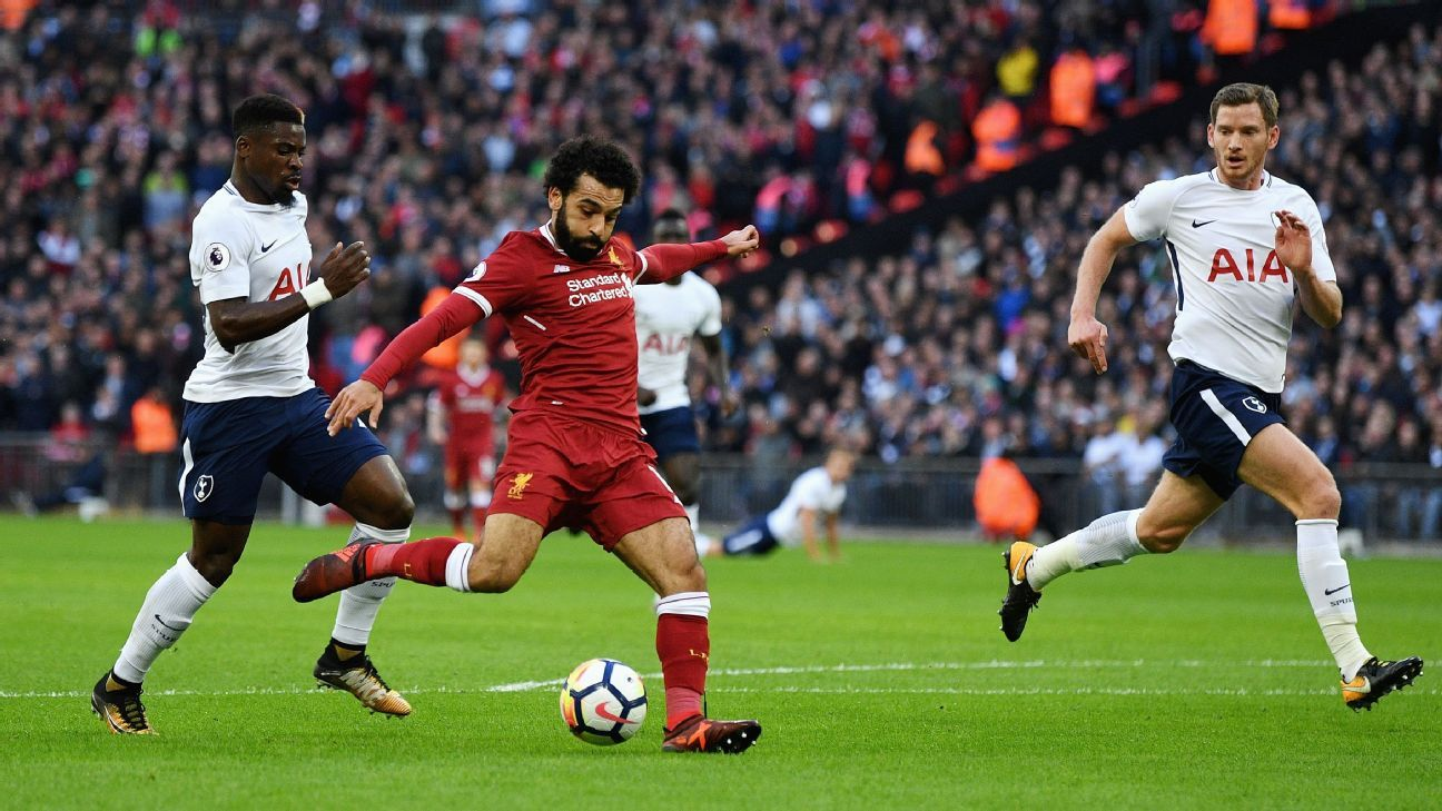 Mohamed Salah leads the league in goals, but can the Liverpool winger maintain his fast start?