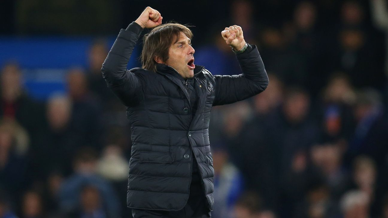 Tactical changes by Antonio Conte give Chelsea edge in Liverpool showdown