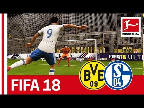 Dortmund vs. Schalke - FIFA 18 Prediction with EA Sports