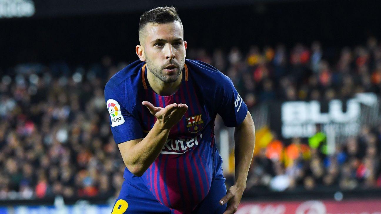 Barcelona s Jordi Alba wants more respect from Valencia fans