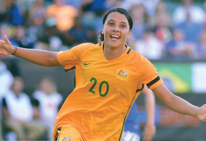 AFC Women's Player of the Year 2017: Samantha Kerr