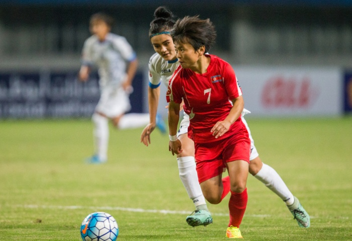 AFC Youth Player of the Year (Women) 2017: Sung Hyang Sim