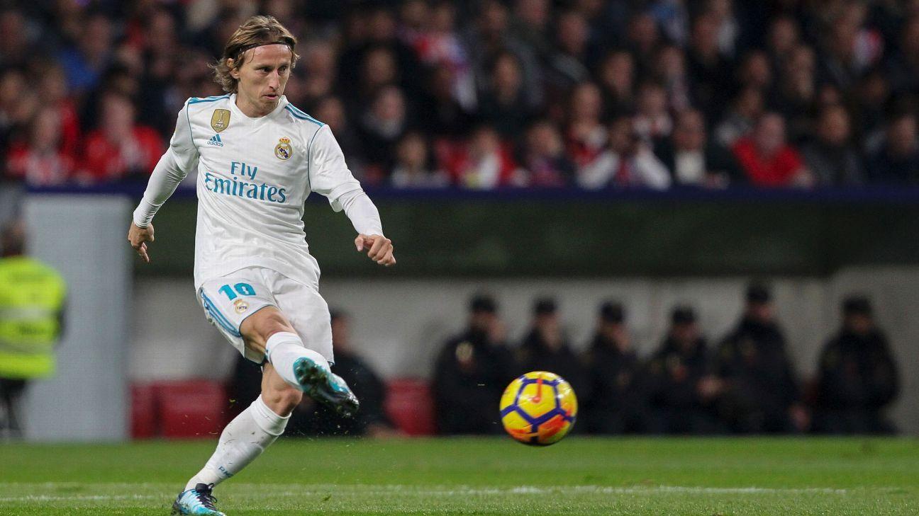 Real Nadrid midfielder Luka Modric accused of tax fraud in Spain