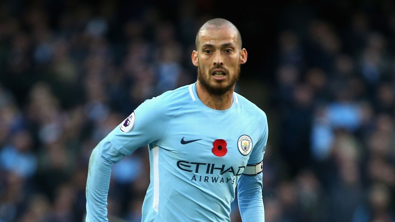 David Silva Extends Manchester City Contract Until 2020
