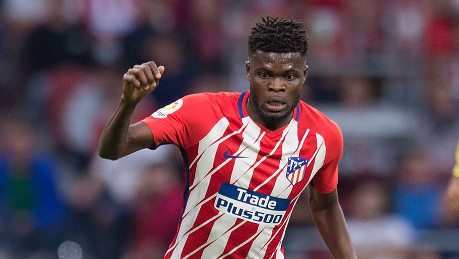 VIDEO: Thomas Partey scores amazing goal in Atletico Madrid training