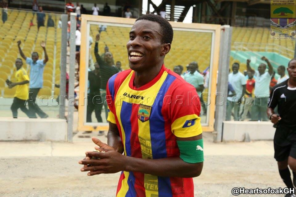 Hearts of Oak's Thomas Abbey close to finalising Cape Town City transfer